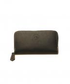 革蛸謹製(カワタコキンセイ)の古着「ラウンドジップ財布」|ブラック