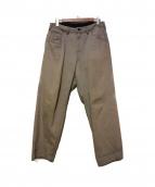 bukht(ブフト)の古着「ビッグデニムパンツ」|グレー