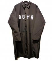 BAGARCH(バガーチ)の古着「ナイロンベンチコート」