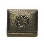 GUCCI(グッチ)の古着「3つ折り財布」|ブラック