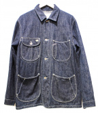 Stevenson Overall Co.(スティーブンソンオーバーオール)の古着「ハートランドレールロードカバーオールデニムジャケット」