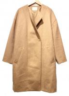 GALLARDA GALANTE(ガリャルダ ガランテ)の古着「ノーカラーコート」