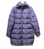MAX&Co.(マックスアンドコー)の古着「中綿コート」 パープル