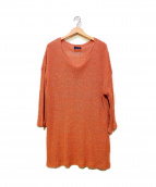 TTAGGG OnffO(タッグ オンフ)の古着「ニット」|オレンジ