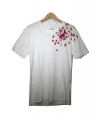 Maison Martin Margiela10(メゾンマルタンマルジェラ10)の古着「プリントTシャツ」|ホワイト