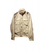 ASPESI(アスペジ)の古着「ナイロンジャケット」|ベージュ