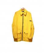 HUGO BOSS(ヒューゴボス)の古着「ナイロンジャケット」|イエロー