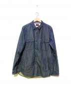 SUNNY SPORTS(サニースポーツ)の古着「カバーオール」 インディゴ
