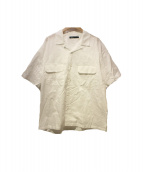 08sircus(ゼロエイトサーカス)の古着「オープンカラーシャツ」|ホワイト