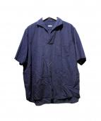 COMOLI(コモリ)の古着「ベタシャンスキッパーシャツ」 ネイビー