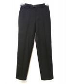 The Stylist Japan(ザスタイリストジャパン)の古着「センタープレスパンツ」|ブラック