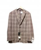 DURBAN(ダーバン)の古着「2Bジャケット」|ブラウン