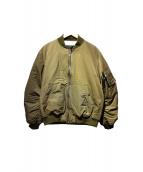PKCZ(ピーケーシーズ)の古着「MA-1ジャケット」 オリーブ