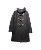 BEAUTY&YOUTH(ビューティアンドユース)の古着「メルトンファーフードライナーコート」 ブラック