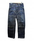 TROPHY CLOTHING(トロフィークロージング)の古着「ダブルニーデニムパンツ」