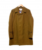 nanamica(ナナミカ)の古着「GORE-TEX ステンカラーコート」|ブラウン