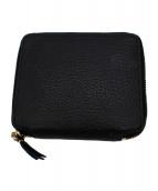 COMME des GARCONS(コムデギャルソン)の古着「2つ折り財布」 ブラック