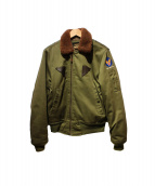 SPIEWAK(スピワック)の古着「B-15Aジャケット」|カーキ