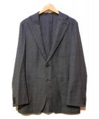 ARTISAN(アルチザン)の古着「2Bジャケット」 グレー