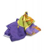HERMES(エルメス)の古着「スカーフ」|パープル