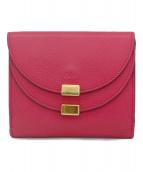 Chloe(クロエ)の古着「2つ折り財布」 ピンク