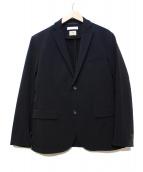 BEAUTY&YOUTH(ビューティアンドユース)の古着「TORAYナイロン2Bジャケット」|ブラック
