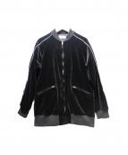 Edition(エディション)の古着「ストレッチベルベットスーベニアジャケット」|ブラック