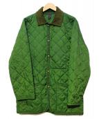 LAVENHAM(ラベンハム)の古着「キルティングジャケット」|グリーン