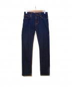 Nudie Jeans(ヌーディー ジーンズ)の古着「スキニーデニムパンツ」|インディゴ