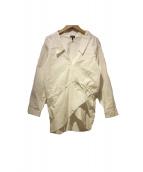 JIL SANDER NAVY(ジルサンダー ネイビー)の古着「シャツブラウス」|ホワイト
