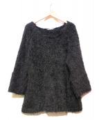 ADORE(アドーア)の古着「シャギーニット」|ブラック