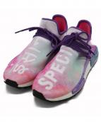 adidas × Pharrell Williams(アディダス × ファレルウィリアムス)の古着「スニーカー」 ピンク×パープル