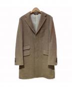 Paul Stuart(ポール スチュアート)の古着「カシミヤ混チェスターコート」|ベージュ