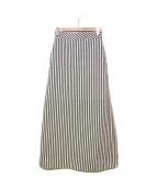 martinique(マルティニーク)の古着「ストライプロングスカート」