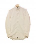 FPAR(フォーティーパーセンツ アゲインストライツ)の古着「ボタンダウンシャツ」 ホワイト