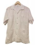 Engineered Garments(エンジニアードガーメンツ)の古着「リネンオープンカラーシャツ」|ホワイト