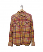 TMT(ティーエムティー)の古着「プレミアムチェックシャツ」 イエロー×ピンク