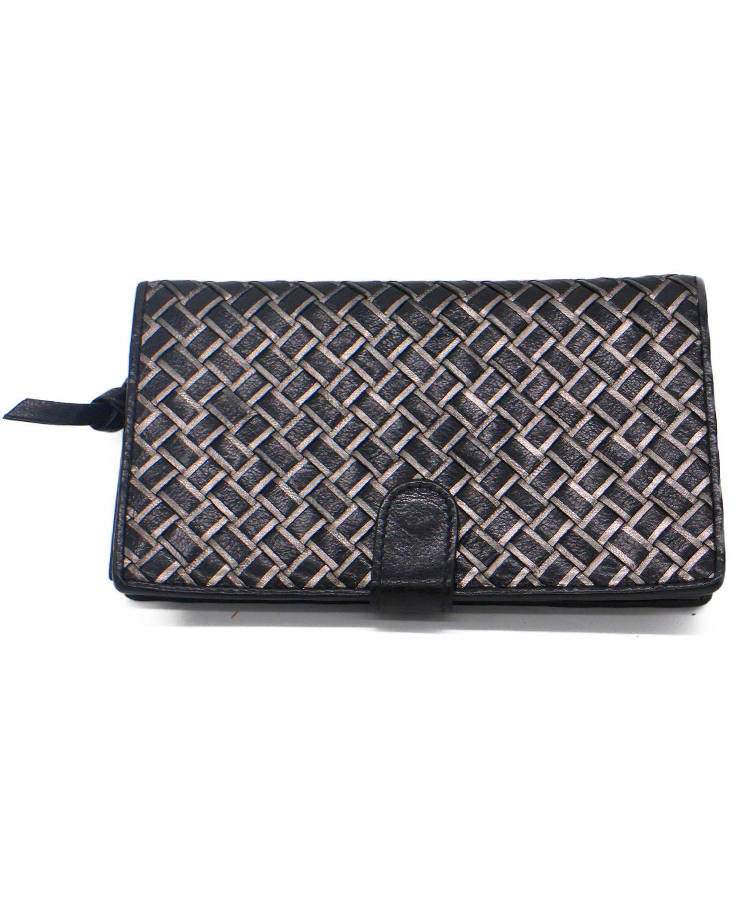 buy online ffe22 73c55 [中古]BOTTEGA VENETA(ボッテガベネタ)のメンズ 服飾小物 イントレチャート2つ折り長財布