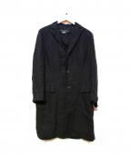 JUNYA WATANABE CDG(ジュンヤワタナベ コムデギャルソン)の古着「コート」|ブラック