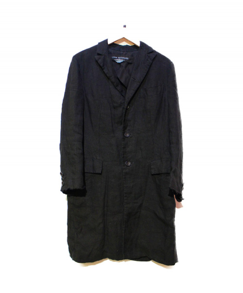 JUNYA WATANABE CDG(ジュンヤワタナベ コムデギャルソン)JUNYA WATANABE CDG (ジュンヤワタナベ コムデギャルソン) コート ブラック サイズ:XS JM-C020の古着・服飾アイテム