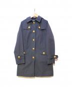 BURBERRY BLUE LABEL(バーバリーブルーレーベル)の古着「ナイロンコート」|ブラック