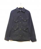 POST OALLS(ポストオーバーオールズ)の古着「カバーオール」 ブラック