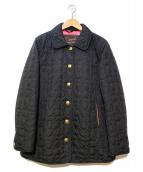 COACH(コーチ)の古着「キルティングジャケット」|ブラック