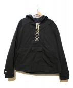 GUCCI(グッチ)の古着「レースアップデザインジャケット」|ブラック
