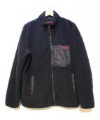 BRIEFING(ブリーフィング)の古着「ボアジップジャケット」|ブラック