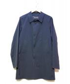 HERNO(ヘルノ)の古着「ナイロンステンカラーコート」|ネイビー
