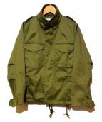 ARMY upper hights(アーミーアッパーハイツ)の古着「ミリタリージャケット」|オリーブ