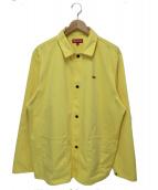 Supreme(シュプリーム)の古着「スモールボックスロゴショップジャケット」 イエロー