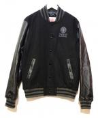 Franklin & Marshall(フランクリンマーシャル)の古着「スタジャン」|ブラック