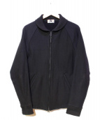 GOOD ENOUGH(グッドイナフ)の古着「スウェットファラオジャケット」|ブラック